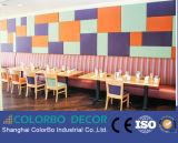 Panneau mural en carton acoustique Panneau décoratif en fibre de verre