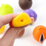 Круглый симпатичный пластичный рисунок игрушки шаржа как подарки