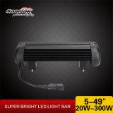 "20W 5 ""手段LEDの軽いヘッドライトのための単一LEDのライトバー"