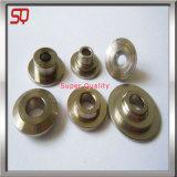 Parti di giro dell'ottone del metallo di precisione dalla macchina del tornio di CNC