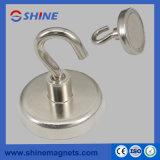 De magnetische Magneet van de Pot van Holdings Nikkel Met een laag bedekte