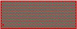 Sciarpa di seta oblunga reale bassa della fabbrica di MOQ stampata Digitahi direttamente per le signore