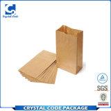 Kundenspezifisches Firmenzeichen-zurückführbarer verpackenbrot-Papierbeutel