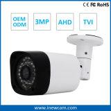 Cámara al aire libre del CCTV de la seguridad 3MP/1080P Ahd