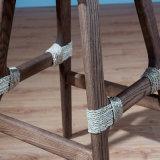 Sgabello di barra naturale della mobilia del rattan A04-11