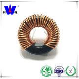 Inducteur courant toroïdal de bobine de cale de mode de ferrite de pouvoir
