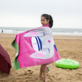 Microfiberの子供の鮫によって印刷されるビーチタオル
