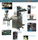 Machine de conditionnement cuite rôtie cuite au four sèche automatique de casse-croûte de pois chiches d'haricots