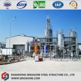 Structure métallique lourde pour l'ensemble industriel