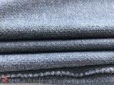 Tela de estiramento Cationic do Spandex do jacquard do poliéster para o vestuário