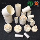 Crogiolo di ceramica del cassetto della corrosione dell'allumina rettangolare a temperatura elevata di resistenza per il forno della fornace