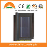 azulejo de azotea solar agitado azul 8W