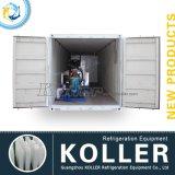 Eenvoudige Verrichting 4 Ton/de Dag Containerized Machine van het Ijs van het Blok met Koude Zaal