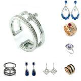 De nieuwe Zilveren Echte Ring van de Juwelen van Manier 925 (A2R001) met de Steen van de Kleur