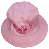 Cute Wide Brim Baby Kids Girls Balde Hat
