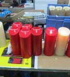De batterij stelde LEIDENE Zonder vlammen Kaars met de Afstandsbediening van de Tijdopnemer in werking