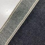 tela 11141 das calças de brim da sarja de Nimes do vintage da lavagem da pedra do Spandex do algodão 10.24oz