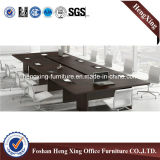 現代大きいサイズのクルミのメラミン長方形のオフィスの会合の会議の席(HX-5N151)