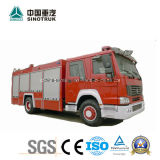Coche de bomberos aéreo del equipo del fuego de la plataforma de la fuente del vario del fuego carro profesional del rescate de 10-200 contadores