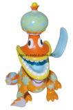 주문을 받아서 만들어진 도매 소형 비닐 PVC 플라스틱 사랑스러운 아이 크리스마스 장난감