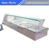 Restaurant Bain électrique Marie avec le guichet en verre Rtc-5h