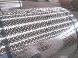 placa de assoalho de alumínio do teste padrão do diamante