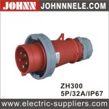 IP67 5p 32A Plug for Industrial