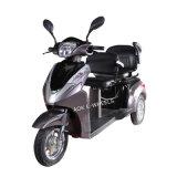 500With700W電気三輪車、デラックスなサドル(TC-022B)が付いている3つの車輪の電気スクーター