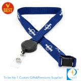 Wholesale Custom Flat Polyester Real Lanyard Badge