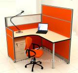 Poste de travail simple de partition de personnel de compartiment chaud de bureau de vente (HF-YZM026)