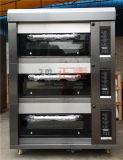 3 Oven van het Dek van het Gas van dekken en van 6 Dienbladen de Luxueuze (zmc-306M)