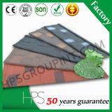 50 anos de telhas de telhado revestidas do metal da pedra do telhado da telha da garantia