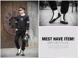 Uma forma ocasional de 2016 sapatas ocasionais dos homens calç sapatas de lona por atacado