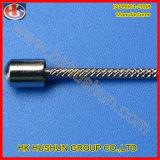 金属(HS-BS-026)が付いているカスタムハードウェアのリングのプラグピン