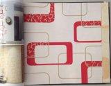 Papier peint non-tissé de décoration de maison de conception de constructeur de papier peint de la Chine de papier peint