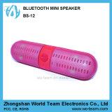 Altavoz estéreo sin hilos sin manos portable de Bluetooth de la forma de la píldora mini