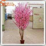 고품질 실내 인공적인 가짜 소형 벚꽃 나무