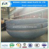 Protezione capa ellittica servita del tubo del acciaio al carbonio