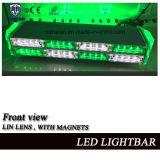 Dos mini Lightbar pilotos de la capa LED con la lente linear, enchufe del Cig