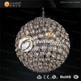 明確な球のシャンデリアの水晶地球のペンダント灯Om690