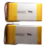 3.7V 6450mAh Polymer Lithium Battery per il lettore DVD di Portable