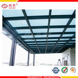 広がる固体ポリカーボネート屋根の天井板のためのプラスチック建築材料