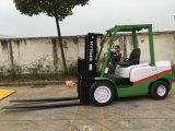 3 Tonnen-Benzin-Motor Powerd Gabelstapler mit Triplex