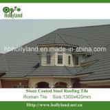 La pietra scheggia le mattonelle di tetto rivestite del metallo (tipo romano)