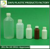bottiglia di tosse della medicina di plastica di figura rotonda del PE 200ml piccola