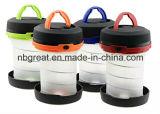Faltender LED-kampierender Laterne-wasserdichter beweglicher zusammenklappbarer Laterne-Taschenlampen-Laterne-Leichtgewichtler