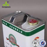 F-Art-4L farbiges Metalllack-Zinn mit Diebstahl-Prüfen Schutzkappe
