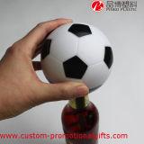 Ouvreur en plastique de bouteille à bière d'insertion de nouveauté faite sur commande du football