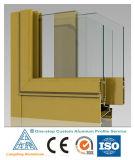 Perfil 6063 T5 de alumínio para Windows e portas