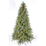 Il collegare diretto del fornitore illumina l'albero di Natale artificiale con gli aghi del pino